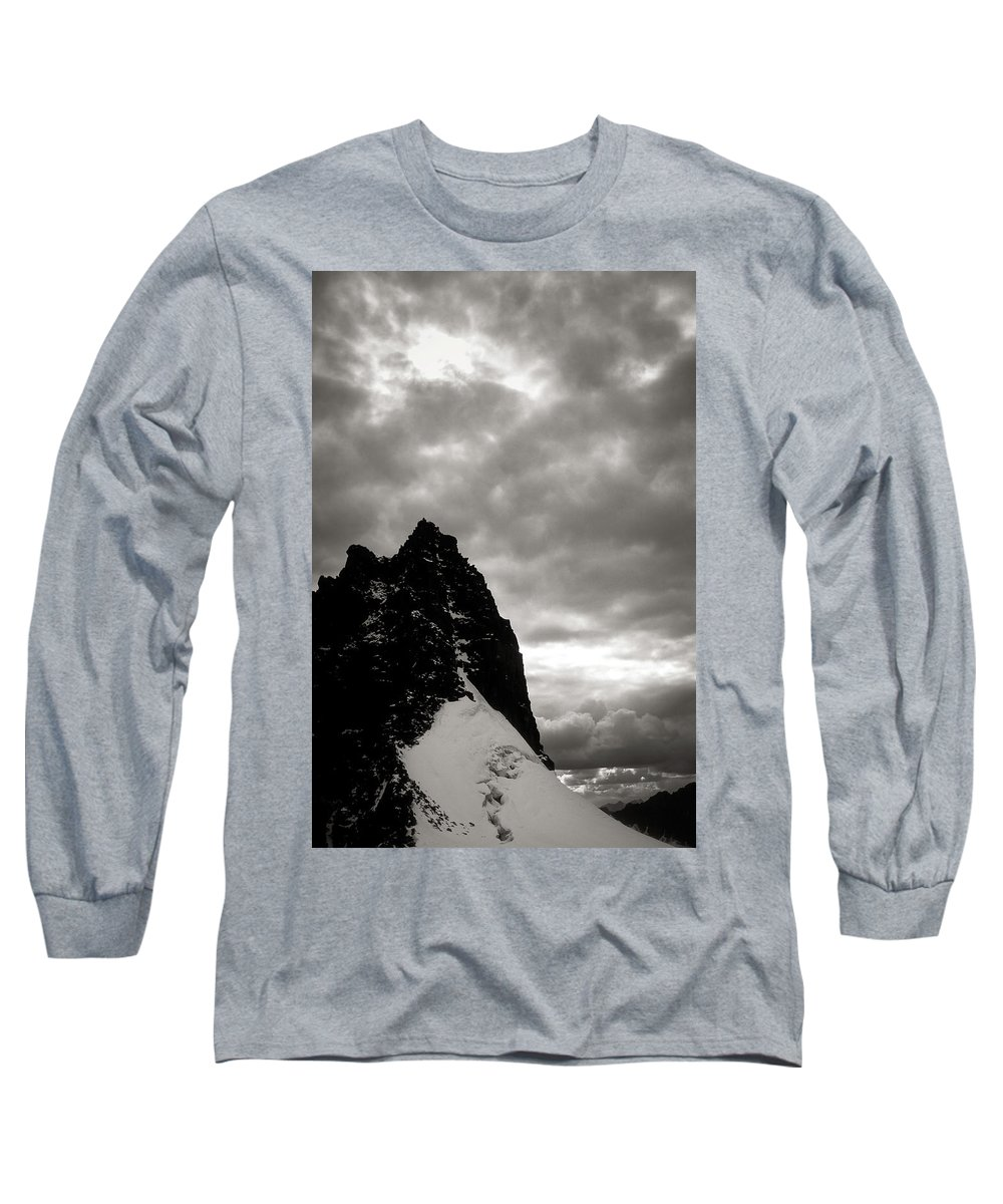 Alone Long Sleeve T-Shirt featuring the photograph Stronghold by Konstantin Dikovsky
