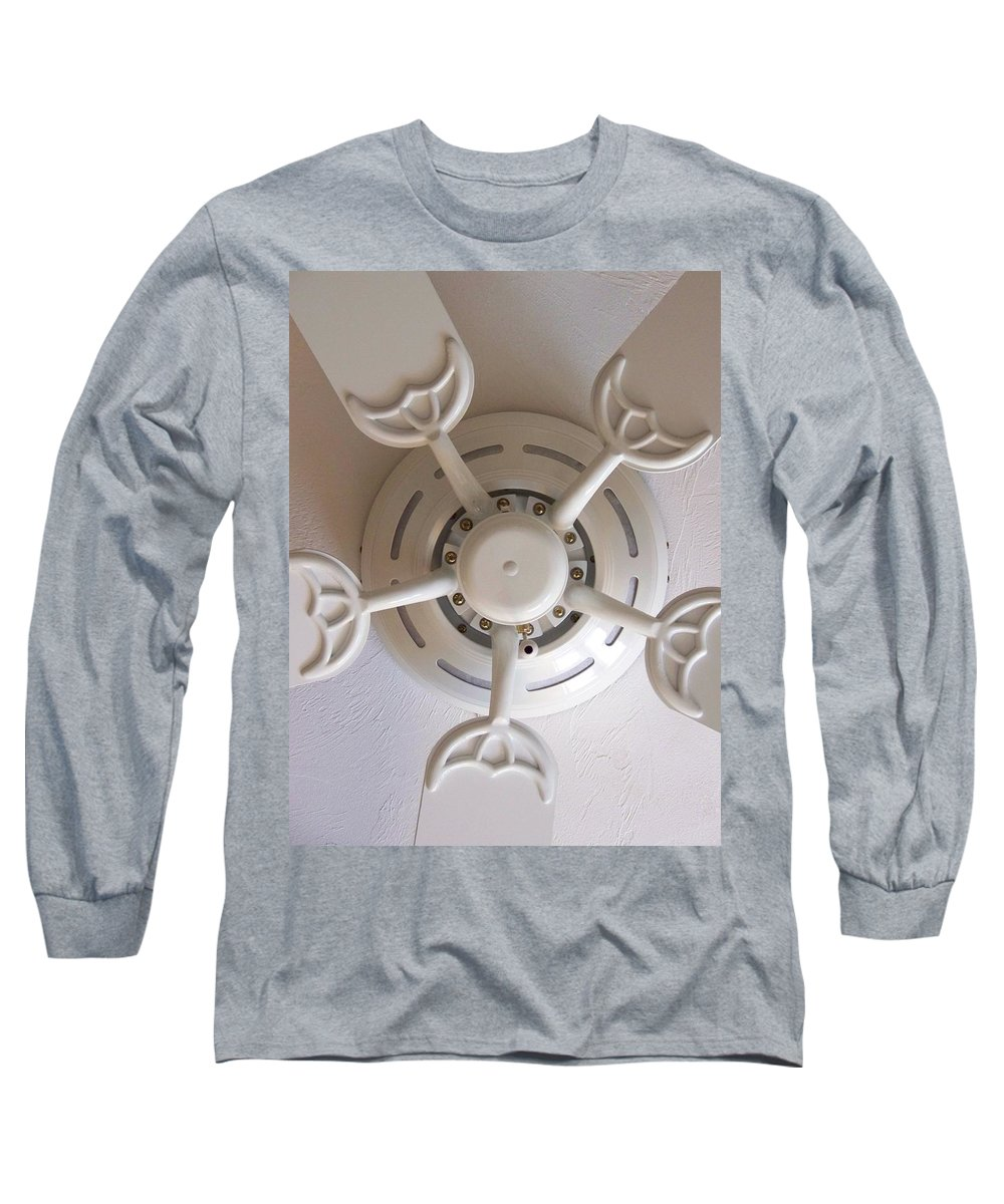 Fan Long Sleeve T-Shirt featuring the photograph Study In Light by Laurie Paci