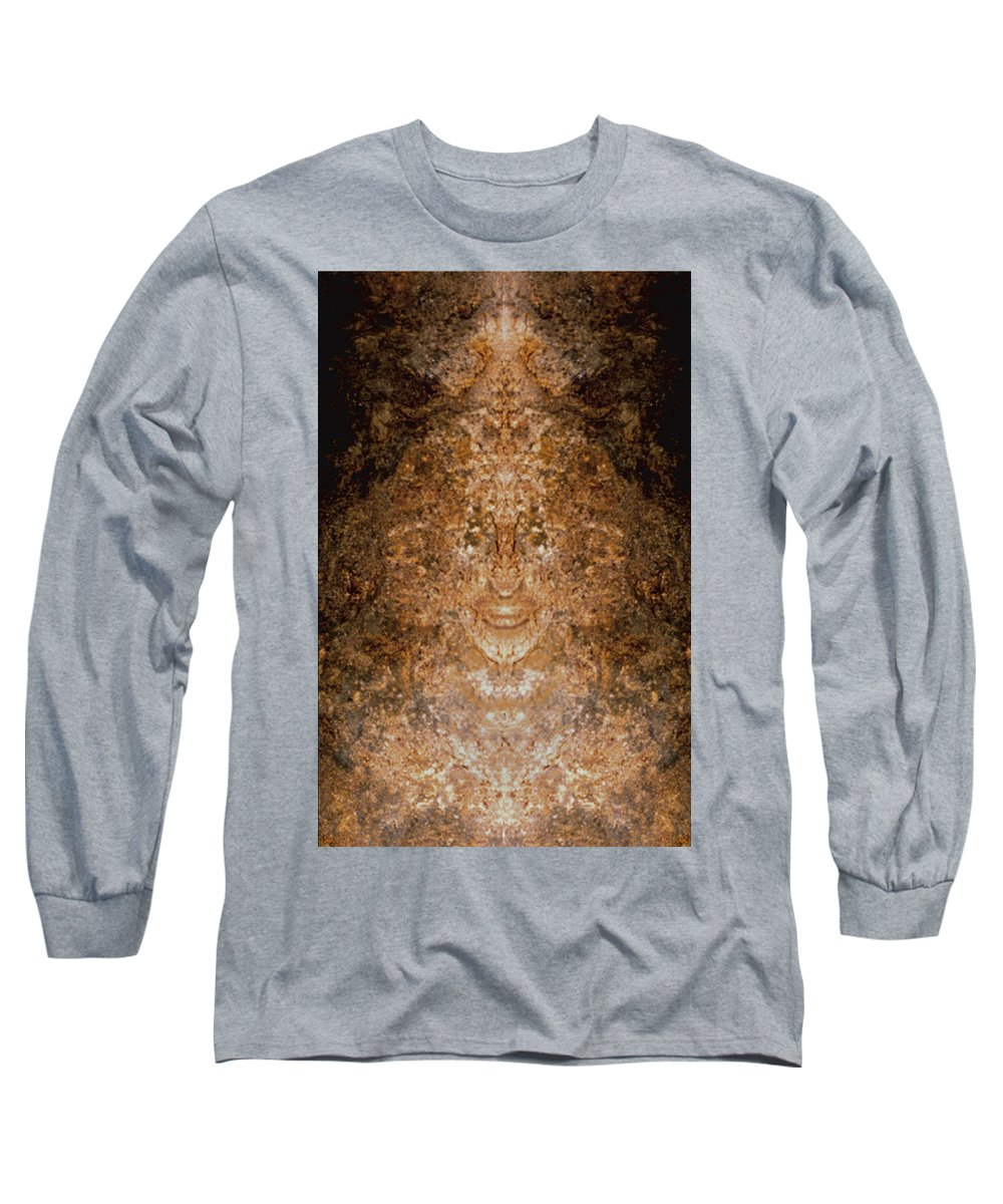 Rocks Long Sleeve T-Shirt featuring the photograph Sunqueen Of Woodstock by Nancy Griswold