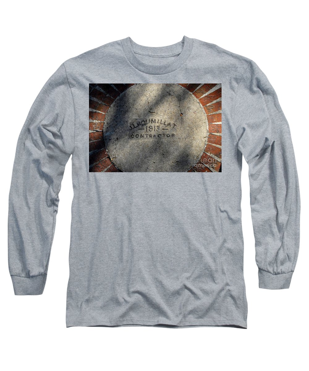 Contractor Long Sleeve T-Shirt featuring the photograph Tampa Bay Hotel 1913 by David Lee Thompson