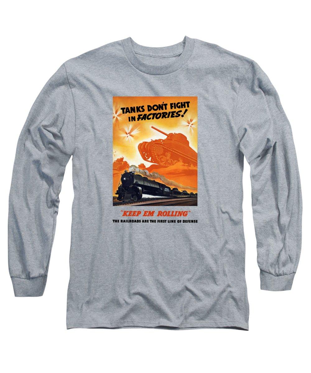 Train Long Sleeve T-Shirts