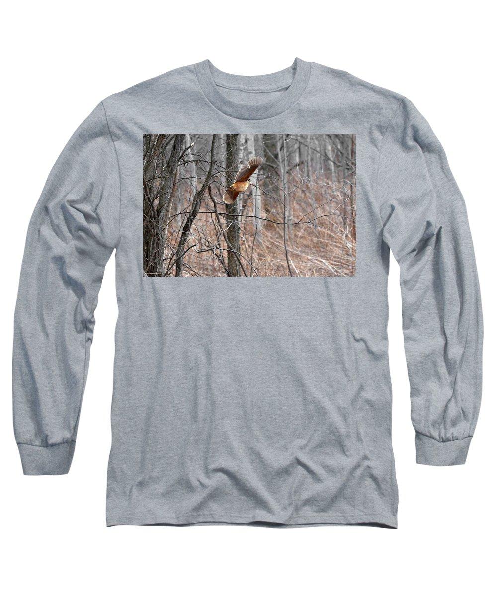 Woodcock Long Sleeve T-Shirts