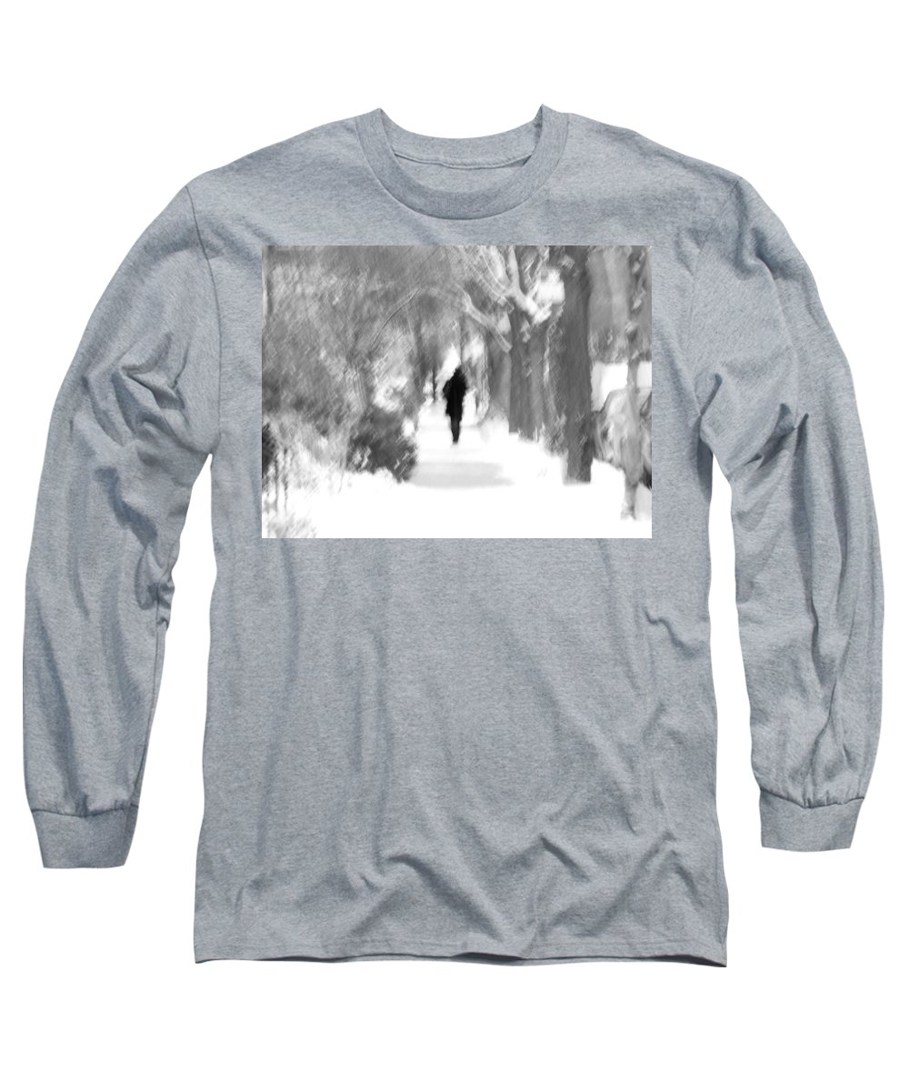 Blur Long Sleeve T-Shirt featuring the photograph The Long December by Dana DiPasquale