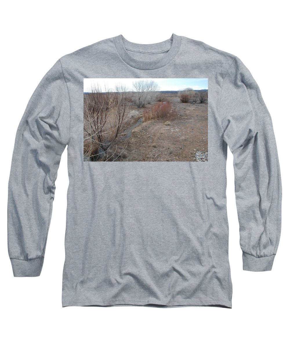River Long Sleeve T-Shirt featuring the photograph The Mighty Santa Fe River by Rob Hans