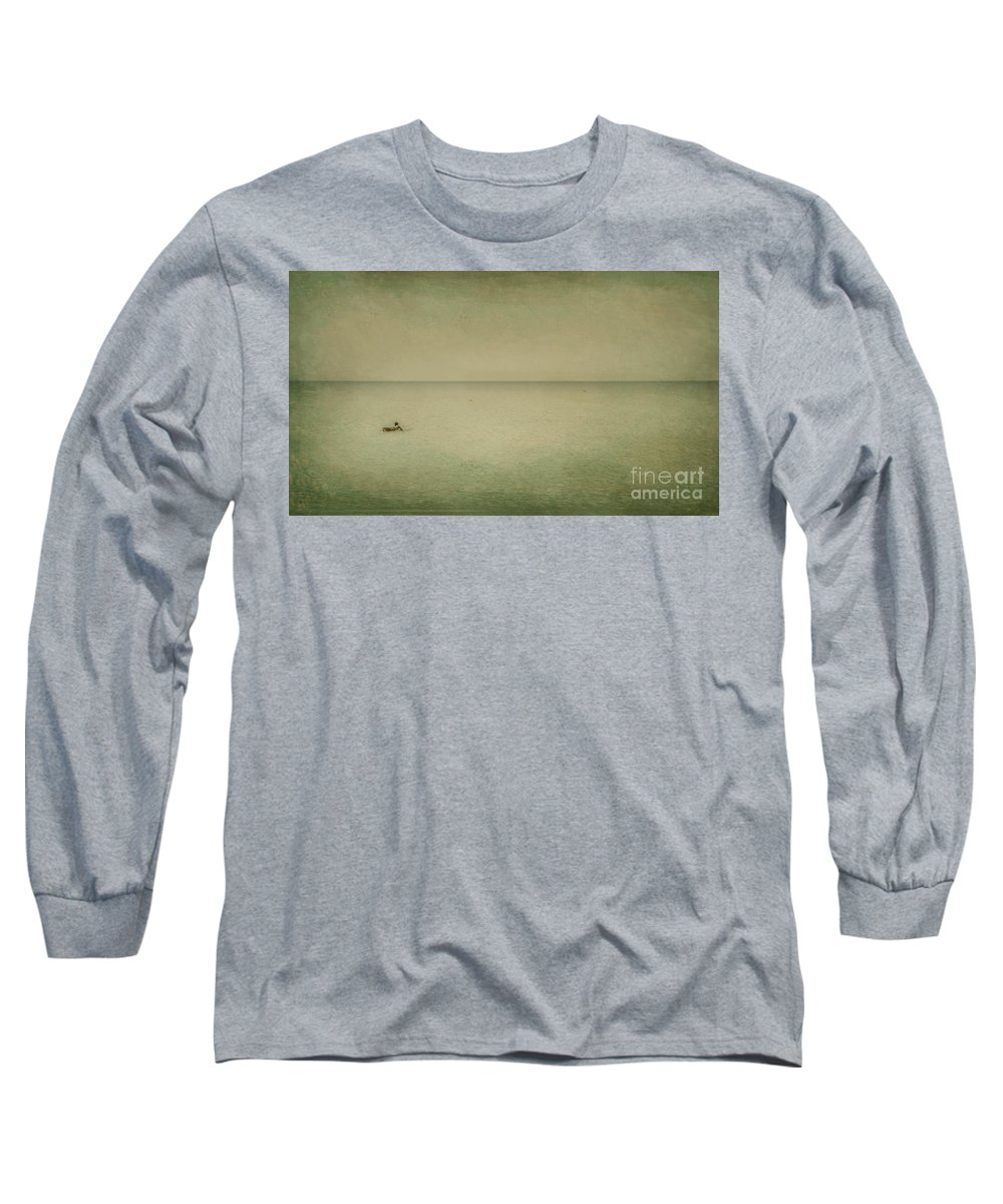 Sea Long Sleeve T-Shirt featuring the photograph The Recesses Of The Deep by Dana DiPasquale