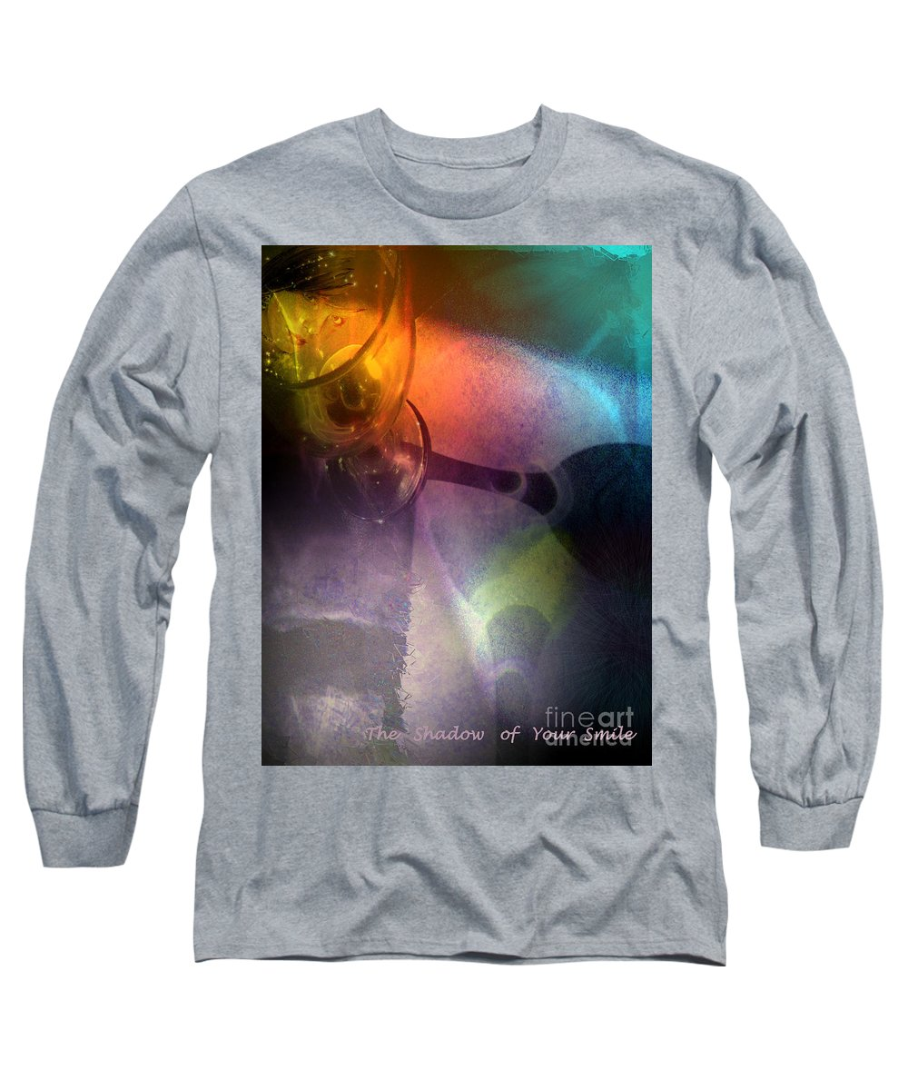 Fantasy Long Sleeve T-Shirt featuring the painting The Shadow Of Your Smile by Miki De Goodaboom