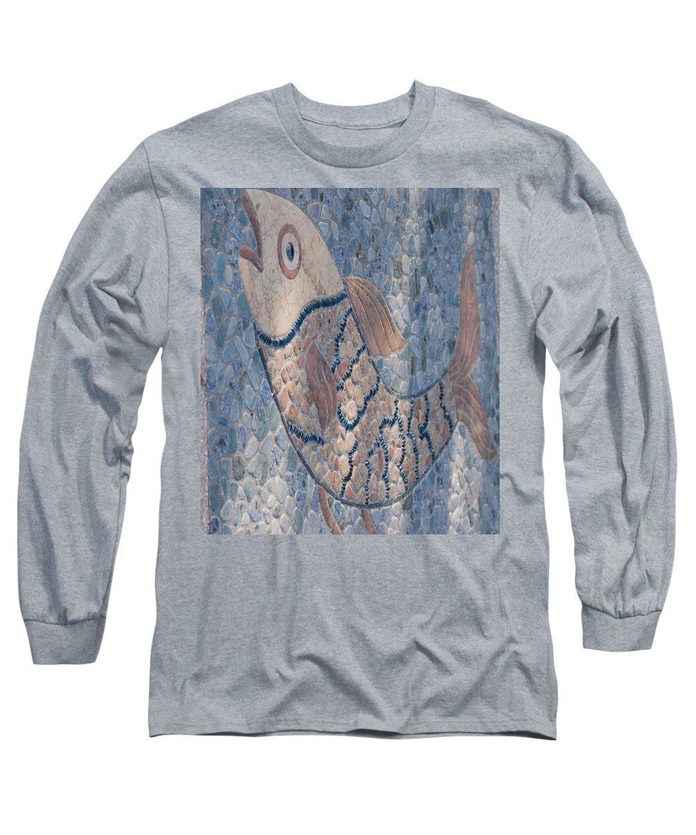 Fish Long Sleeve T-Shirt featuring the photograph The Stone Fish by Rob Hans