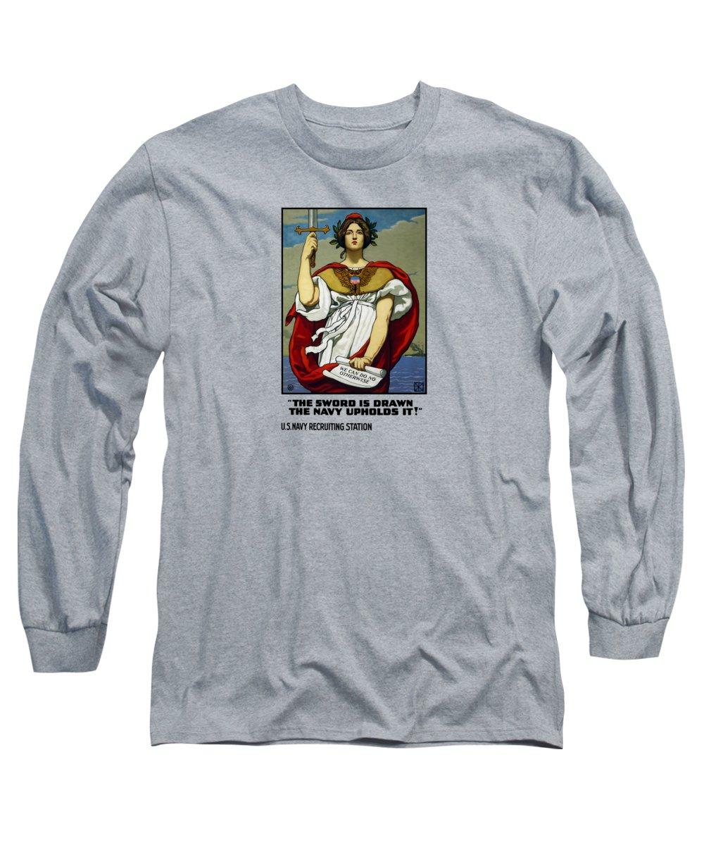 Sword Paintings Long Sleeve T-Shirts