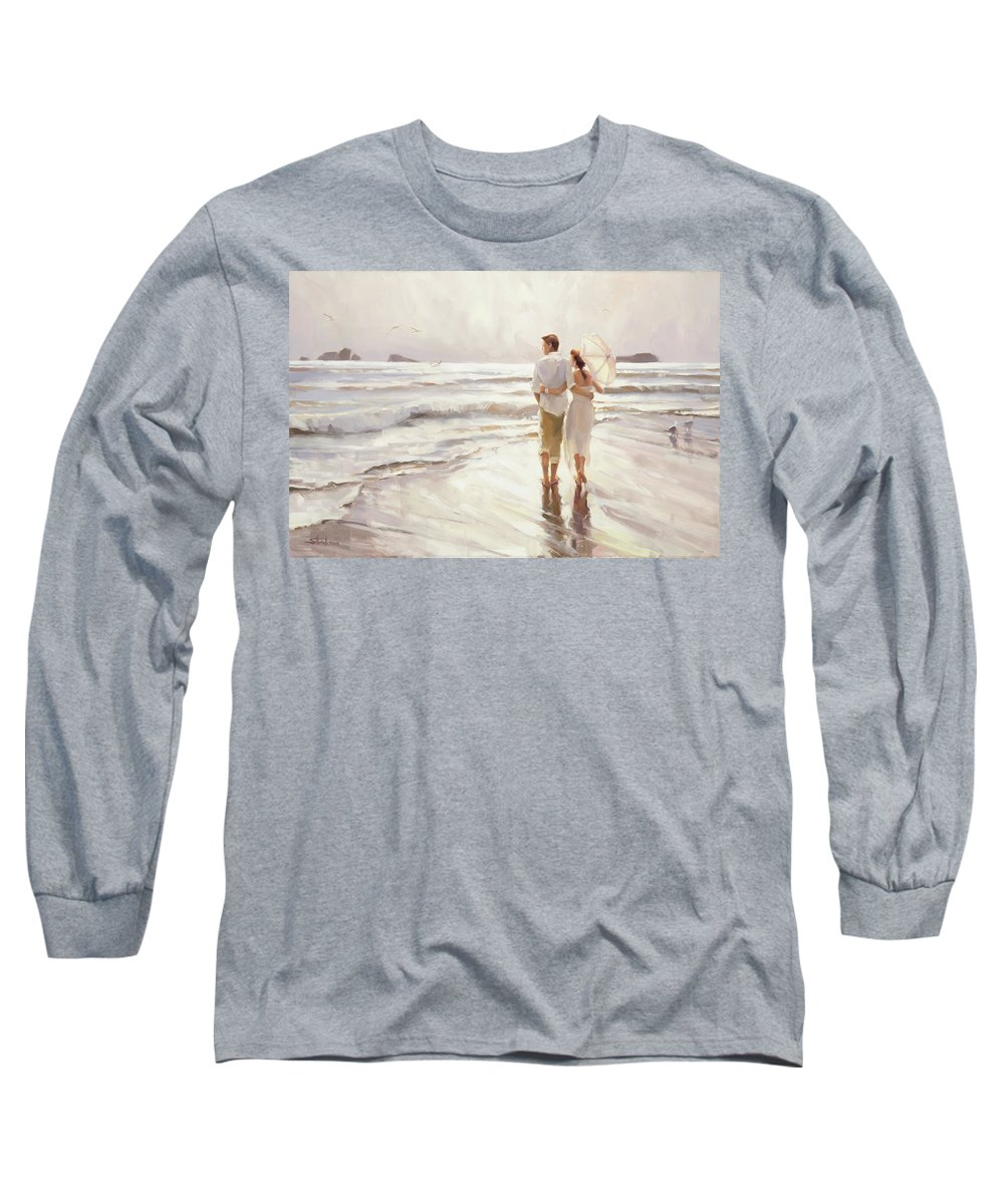 Love Long Sleeve T-Shirt featuring the painting The Way That It Should Be by Steve Henderson