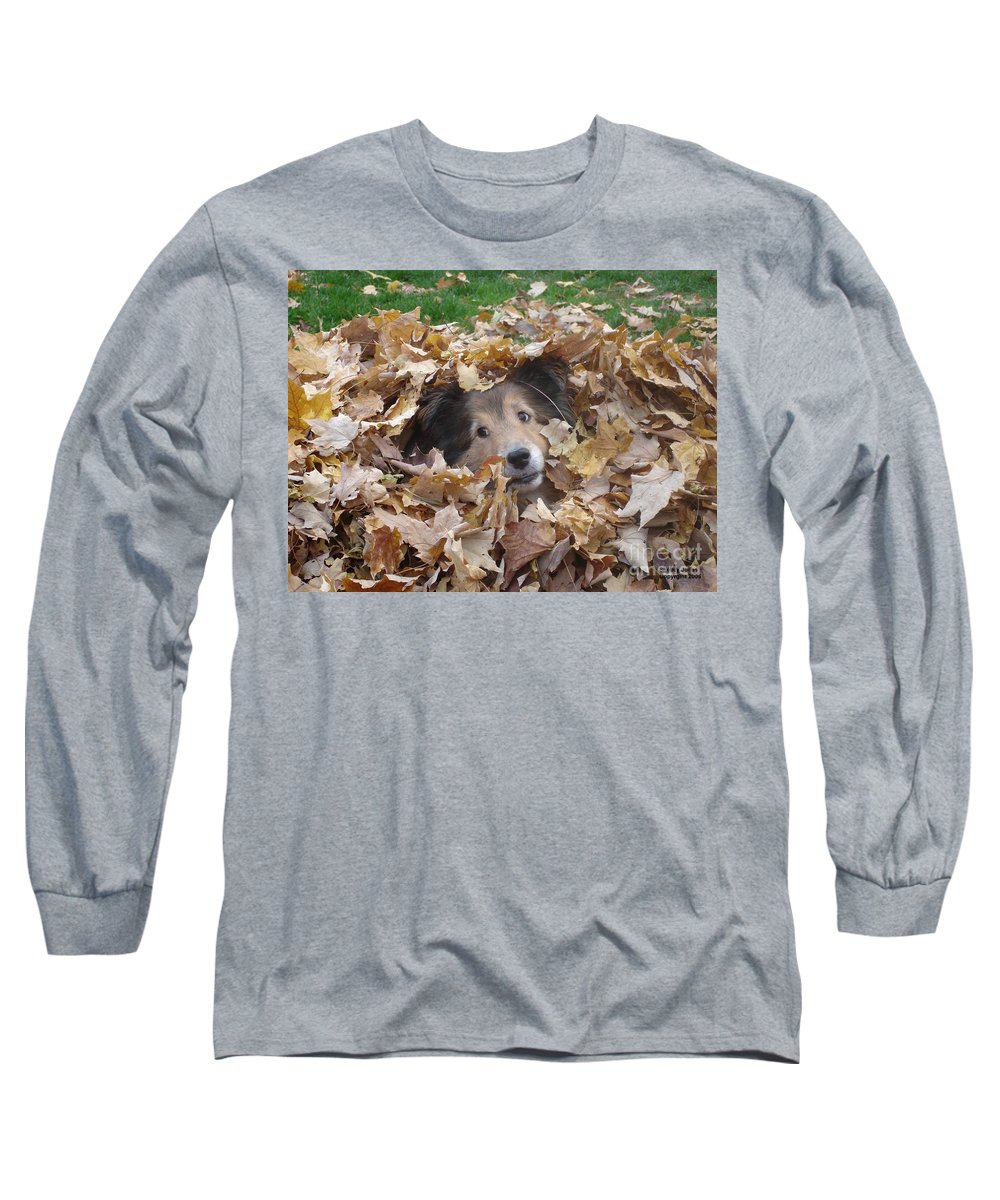 Dog Long Sleeve T-Shirt featuring the photograph Those Eyes by Shelley Jones