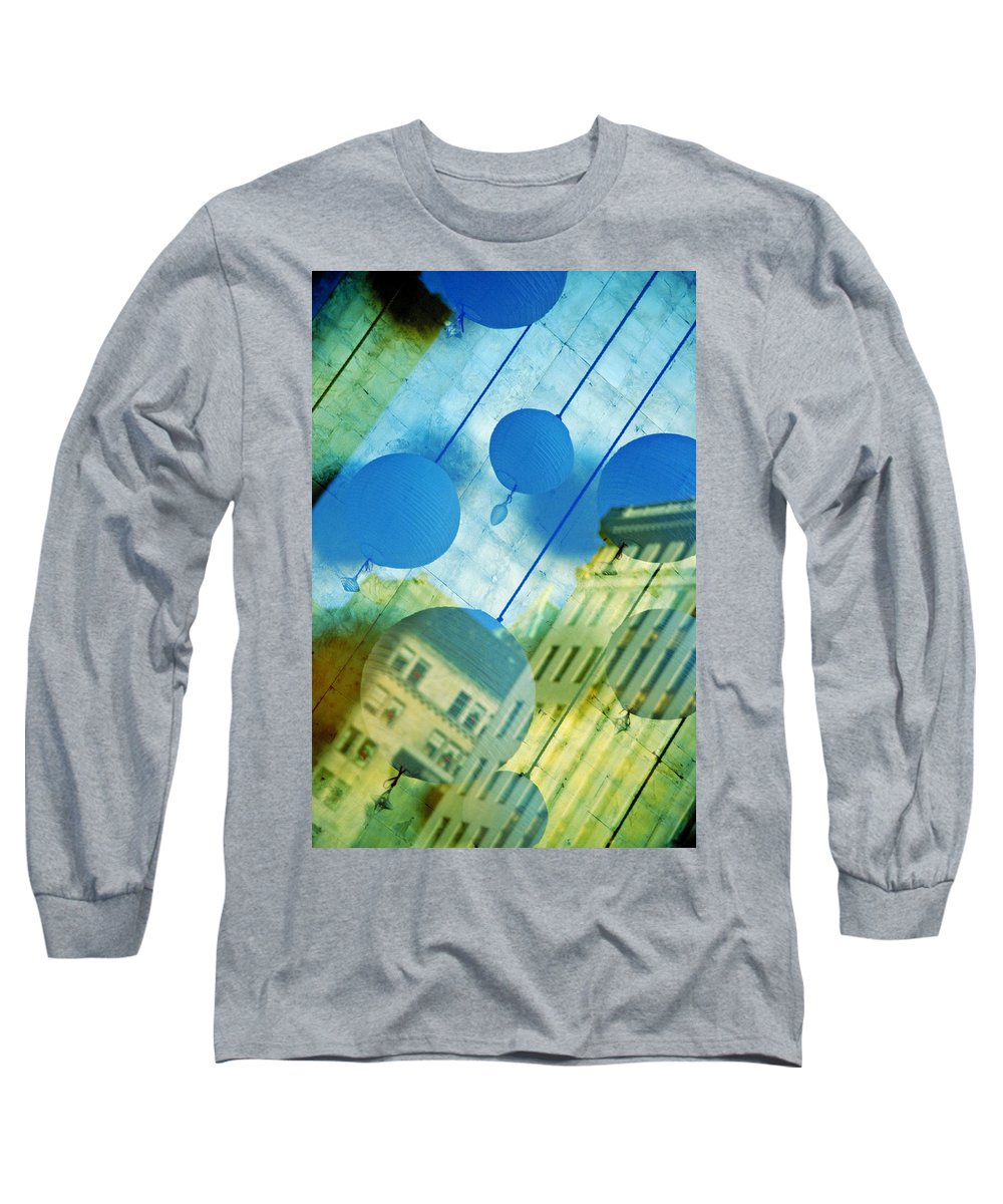 New York Long Sleeve T-Shirt featuring the photograph Tiffanys by Skip Hunt