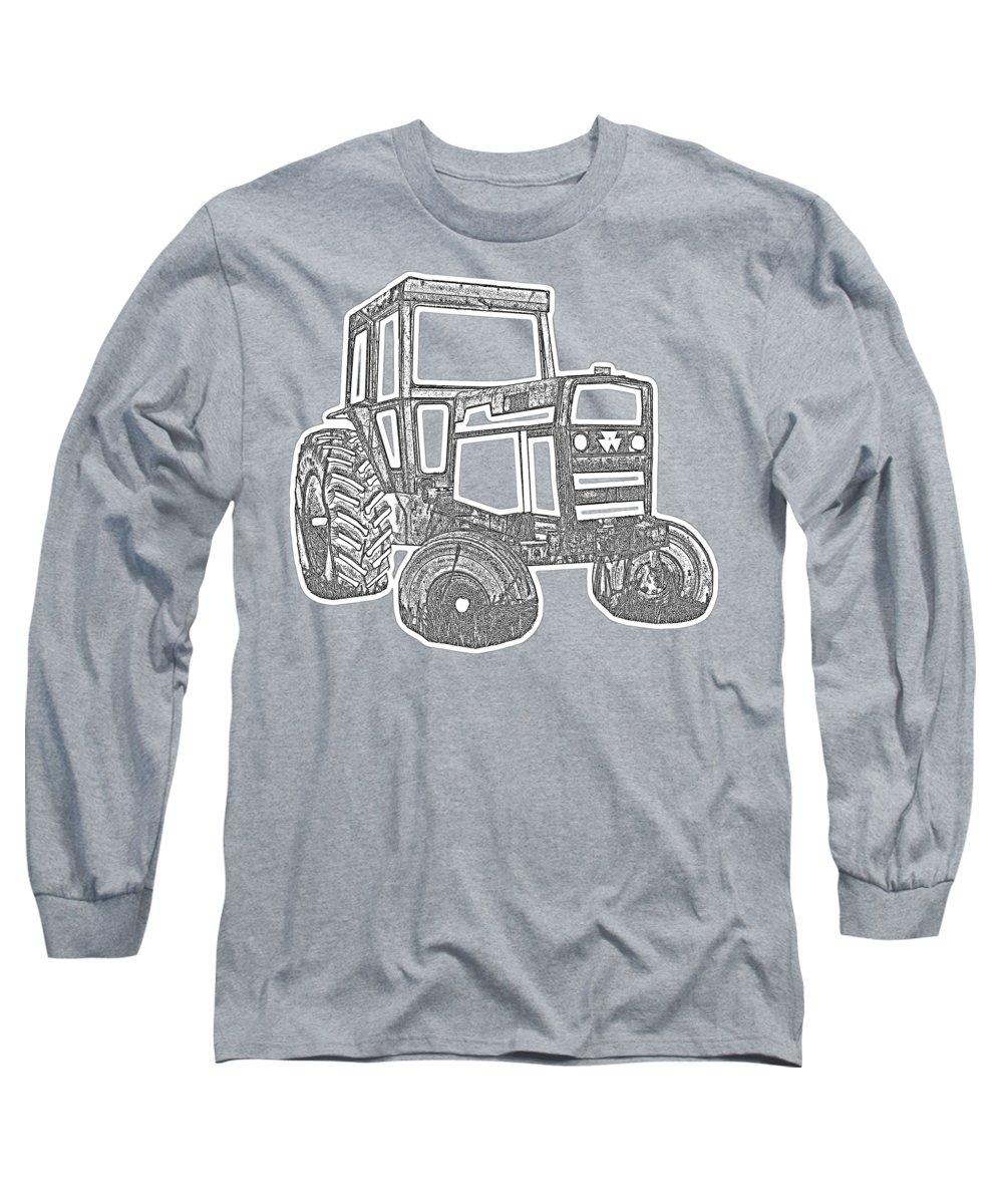 Farms Photographs Long Sleeve T-Shirts