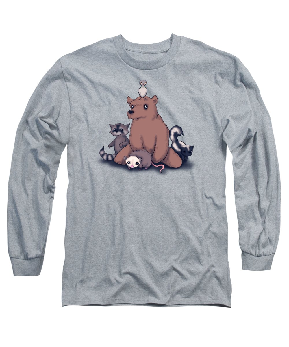 Pigeon Long Sleeve T-Shirts