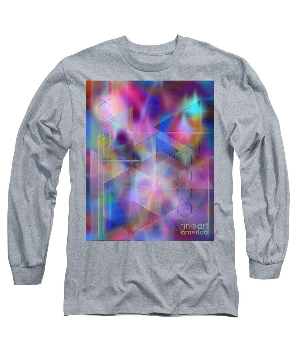 Usonian Dreams Long Sleeve T-Shirt featuring the digital art Usonian Dreams by John Beck
