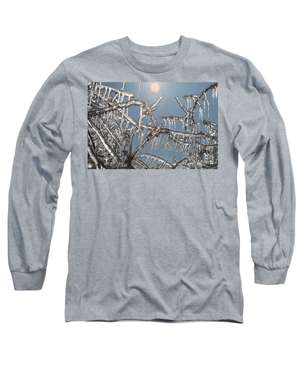 Winter Long Sleeve T-Shirt featuring the photograph Winter Warmth by Nadine Rippelmeyer