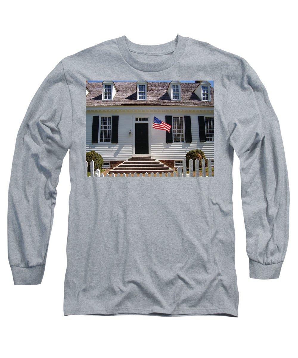 Yorktown Long Sleeve T-Shirt featuring the photograph Yorktown II by Flavia Westerwelle