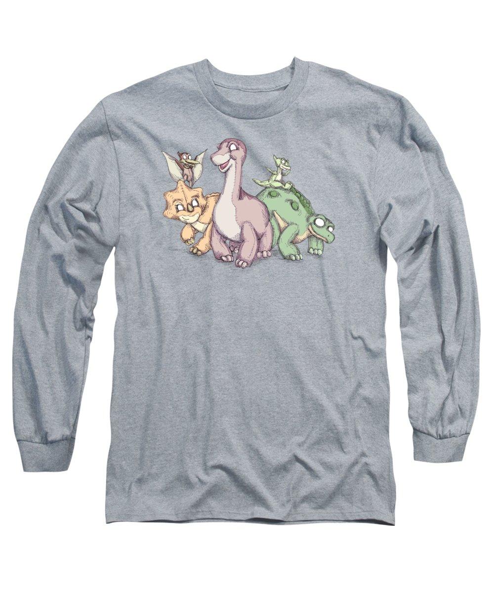 Spike Long Sleeve T-Shirts
