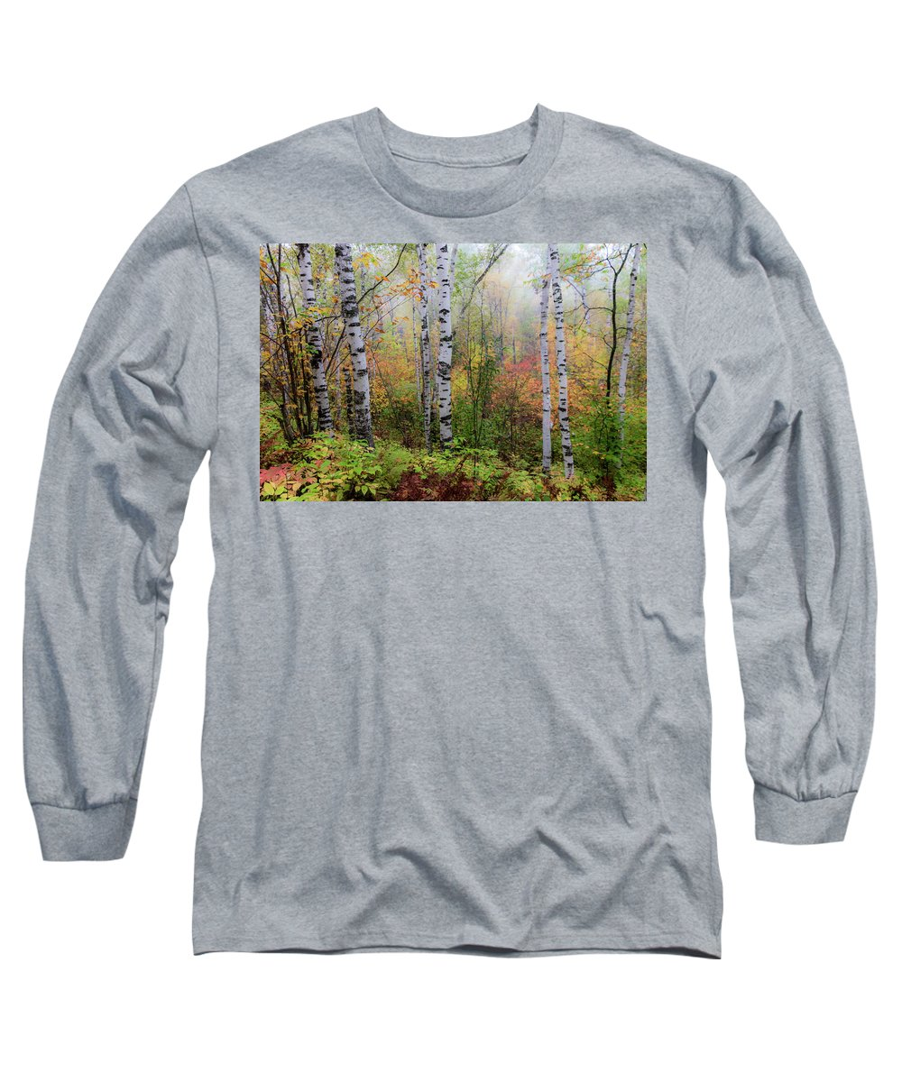 Autumn Long Sleeve T-Shirt featuring the photograph September Morn by Mary Amerman