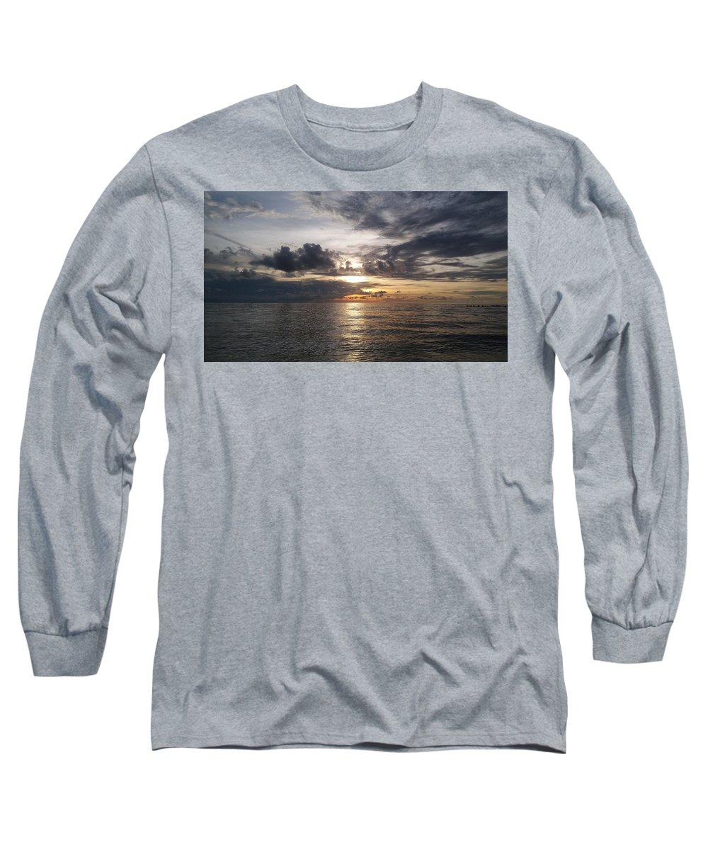 Sunset Long Sleeve T-Shirt featuring the photograph Sunset by Cora Jean Jugan