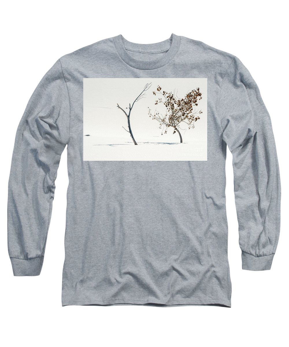 White Sands Long Sleeve T-Shirt featuring the photograph Survival Of The Fittest by Mike Dawson