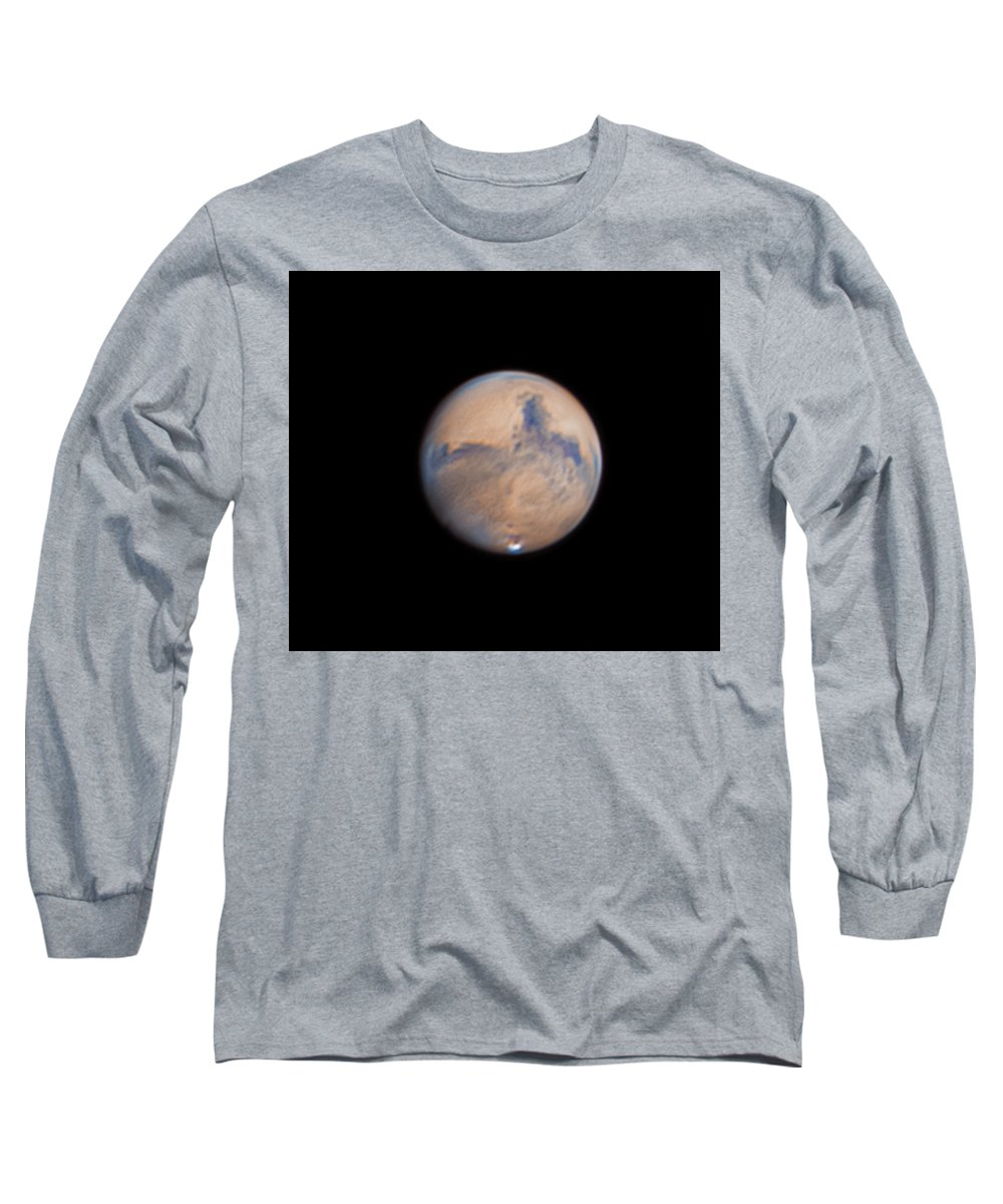 Mars Long Sleeve T-Shirt featuring the photograph Mars from 31st October 2020 by Prabhu Astrophotography