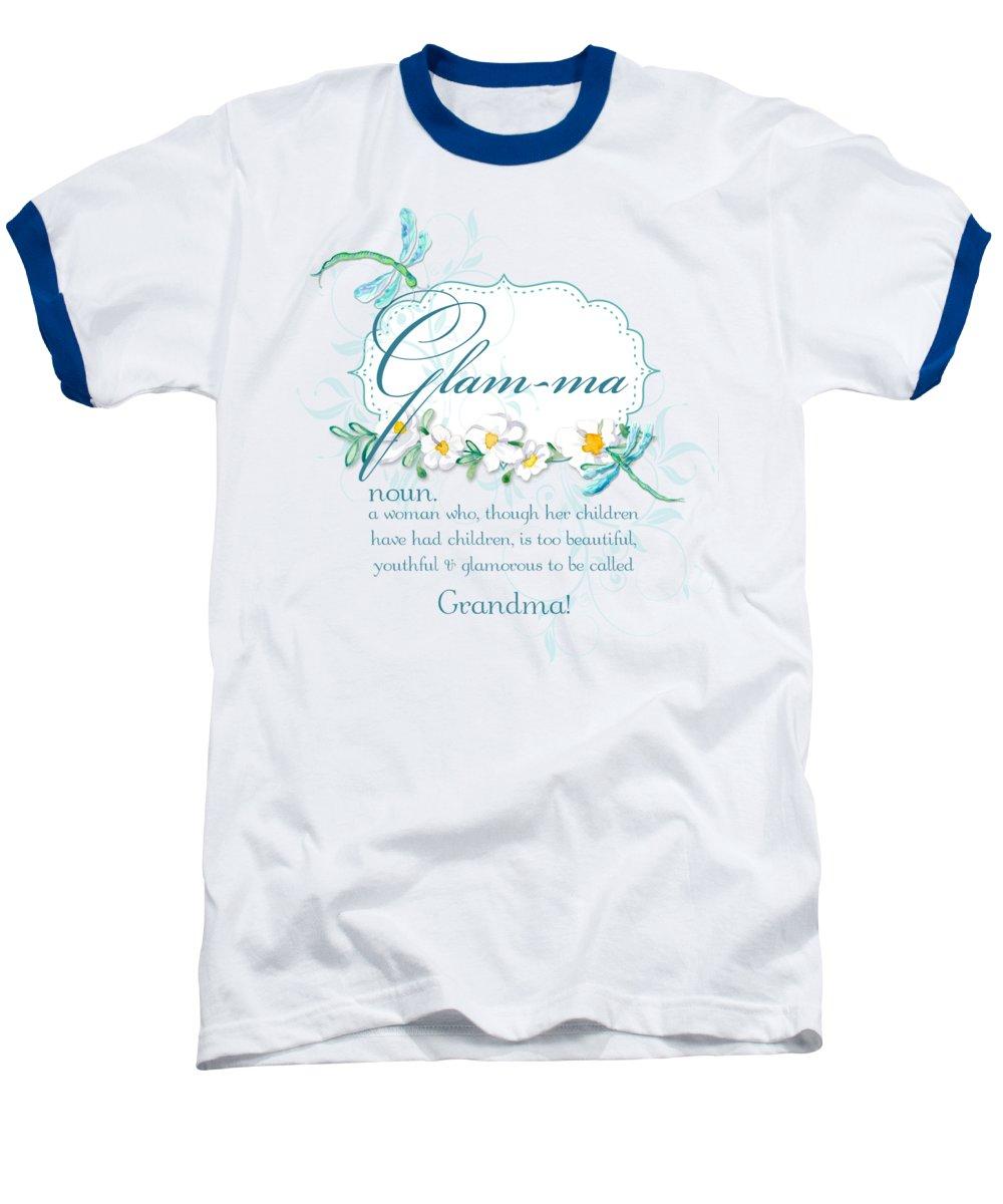 Daisies Baseball T-Shirts