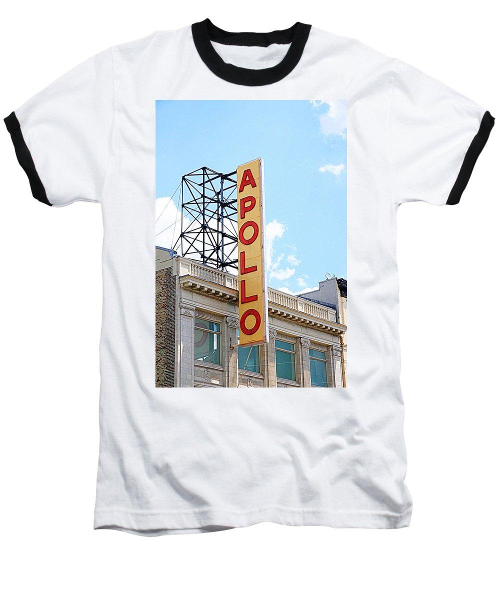 Apollo Theater Baseball T-Shirts