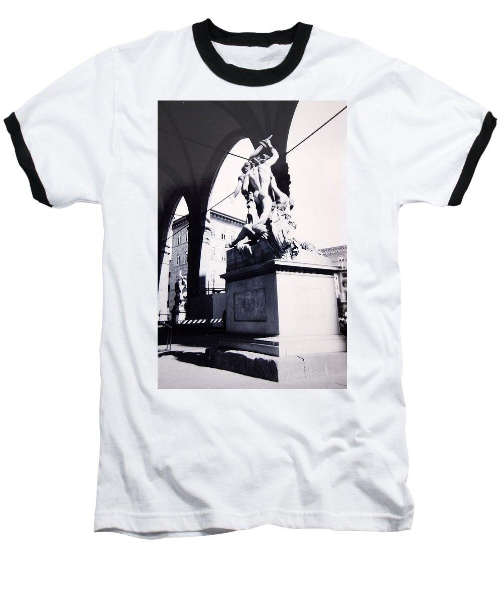 Firenze Baseball T-Shirt featuring the photograph Florence by Kurt Hausmann