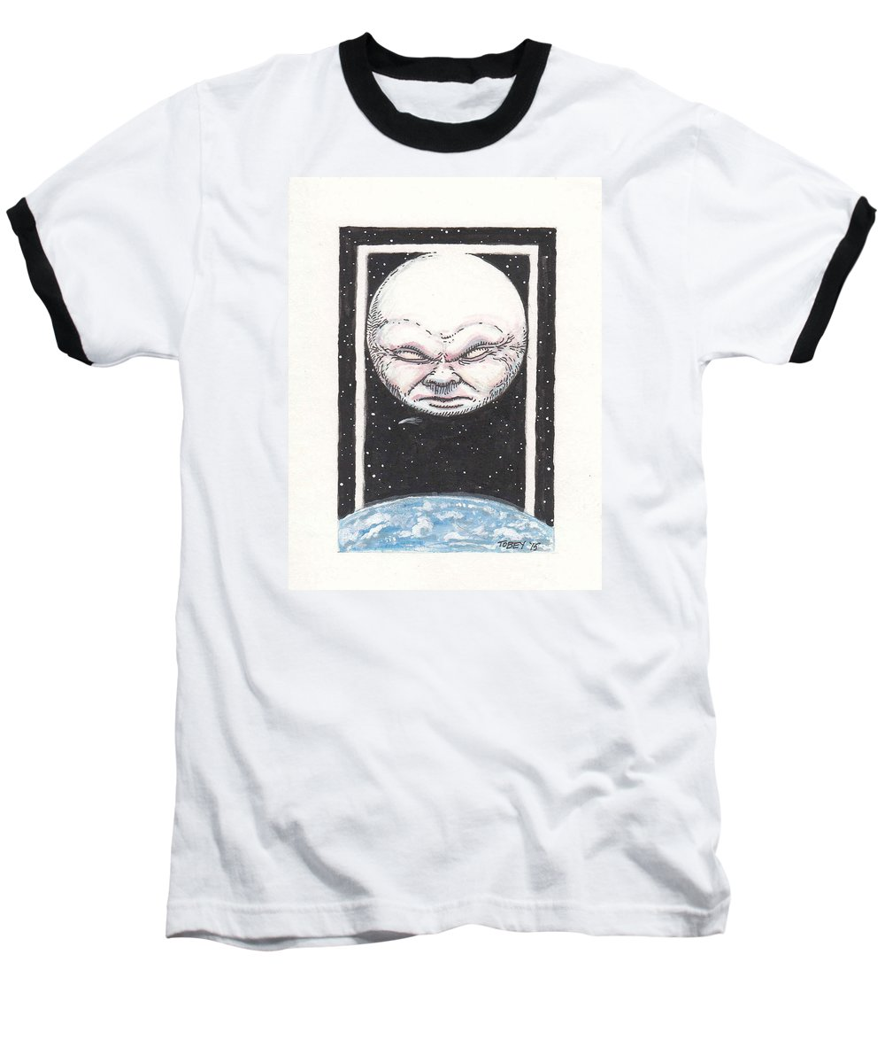 Furniture Baseball T-Shirt featuring the drawing Untitled by Tobey Anderson