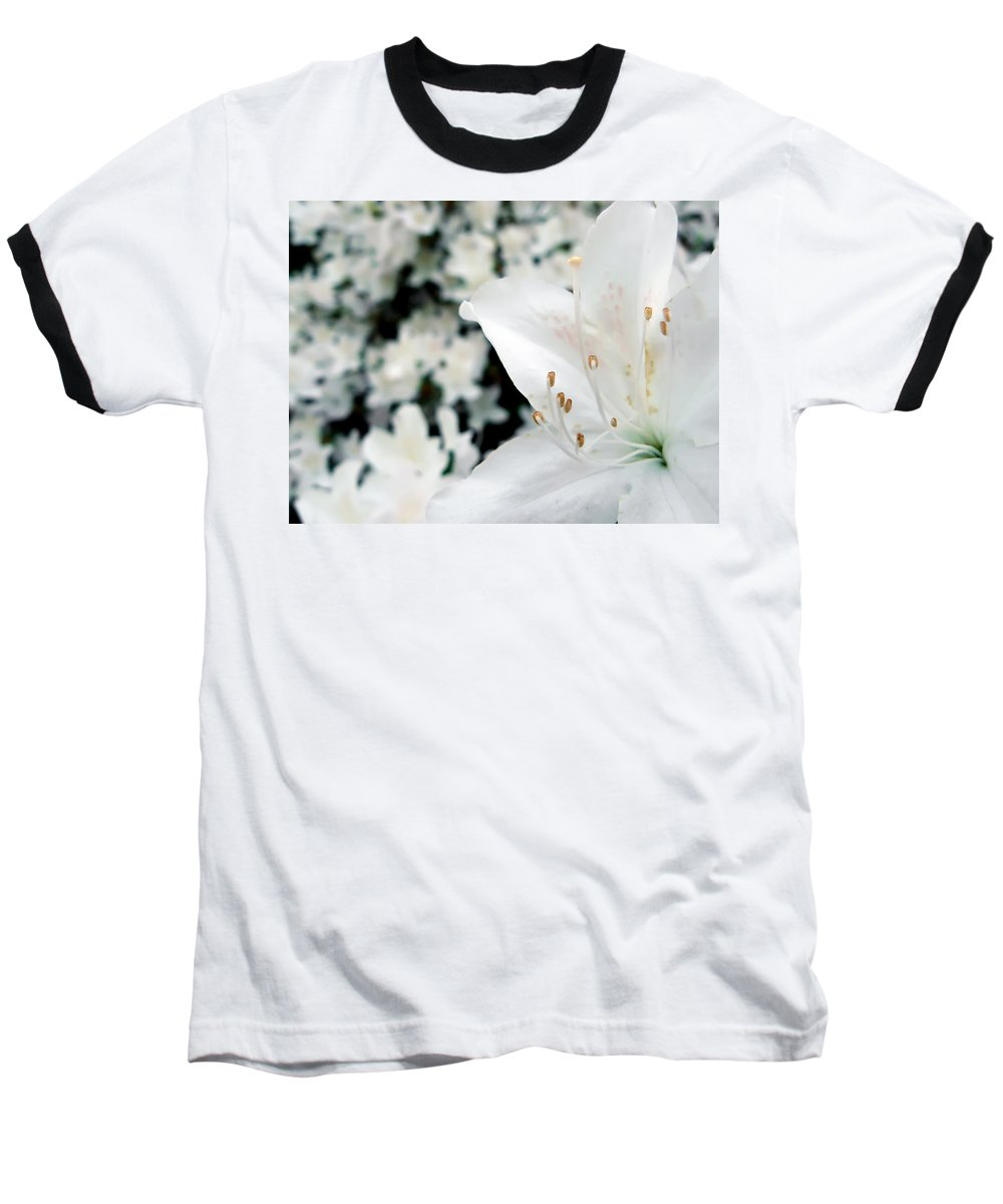Azalea Baseball T-Shirt featuring the photograph Azalea by Daniel Csoka