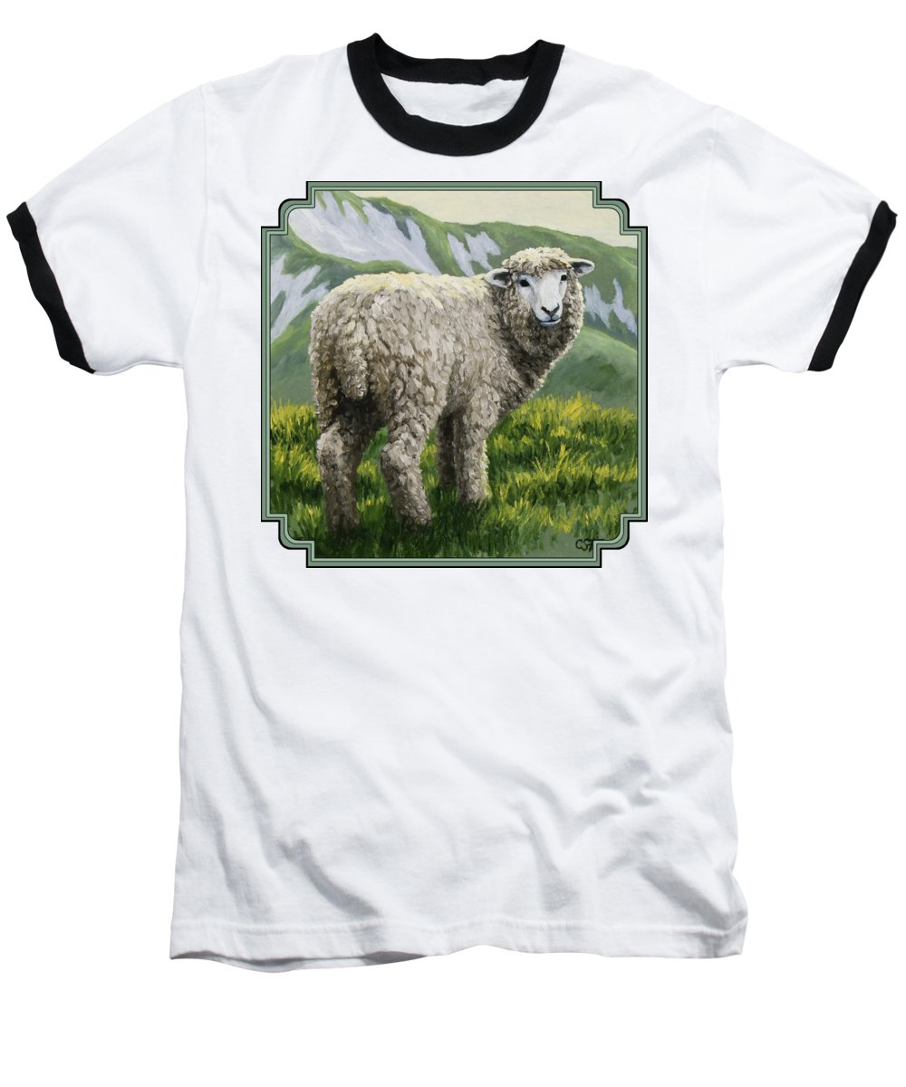 Sheep Baseball T-Shirts