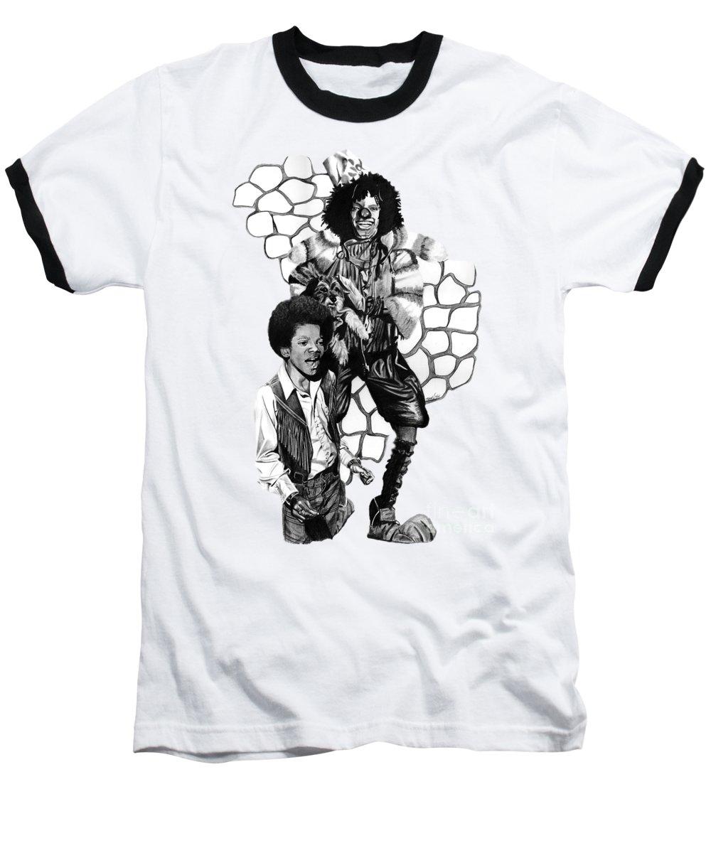 Michael Jackson Baseball T-Shirts