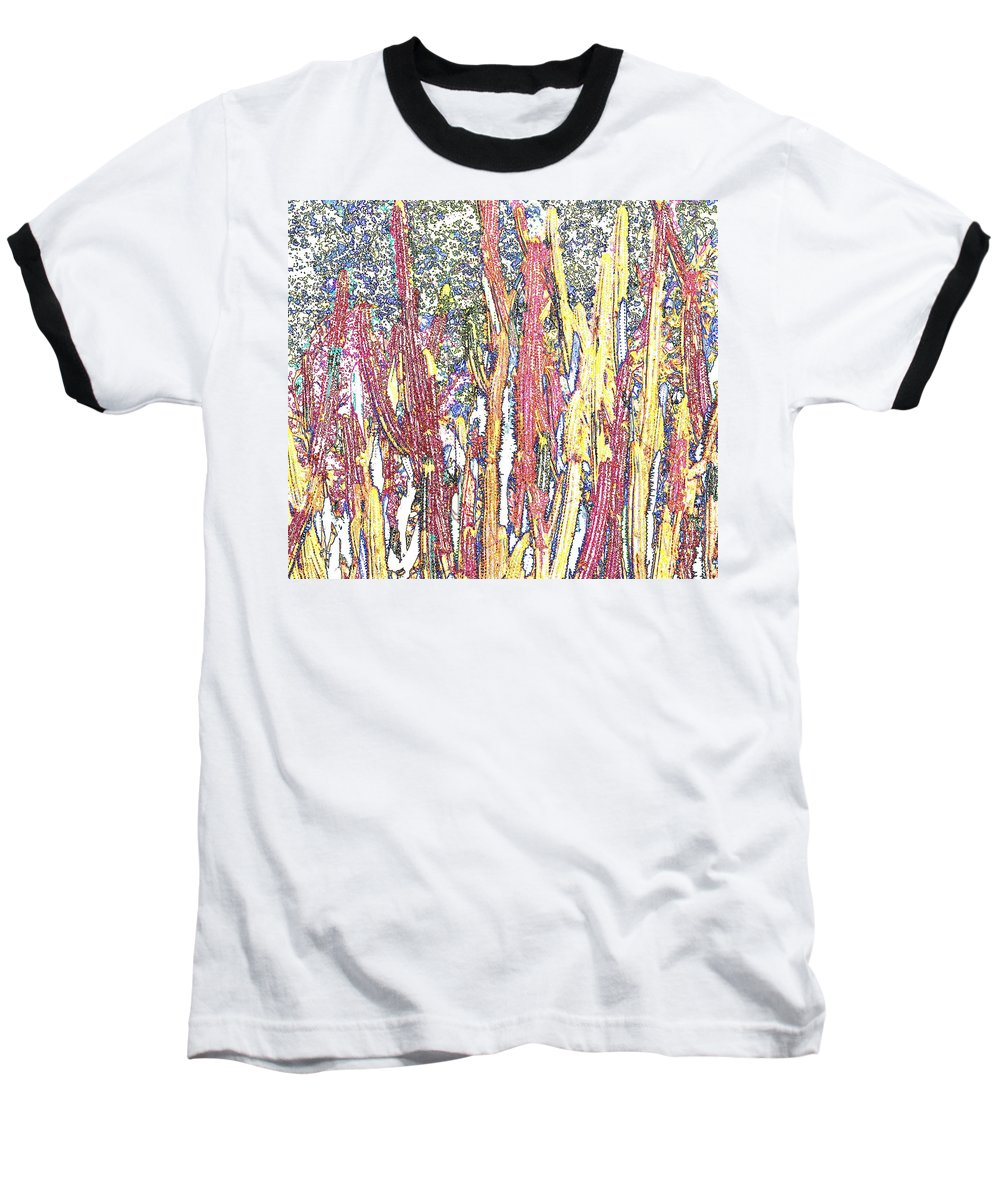 Forest Baseball T-Shirt featuring the photograph Brimstone Forest by Ian MacDonald