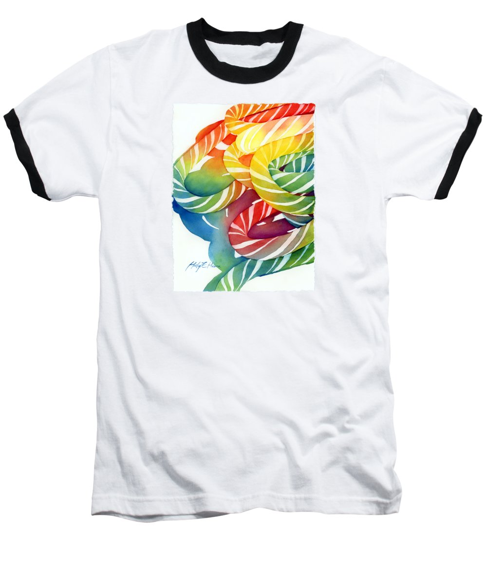 Spirals Baseball T-Shirts