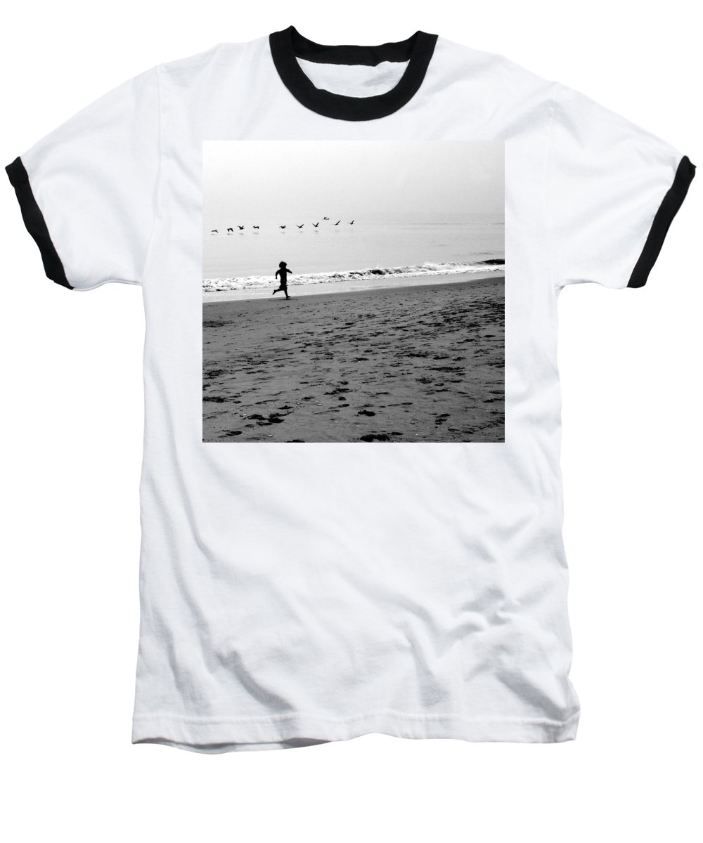 Photograph Baseball T-Shirt featuring the photograph Carefree by Jean Macaluso