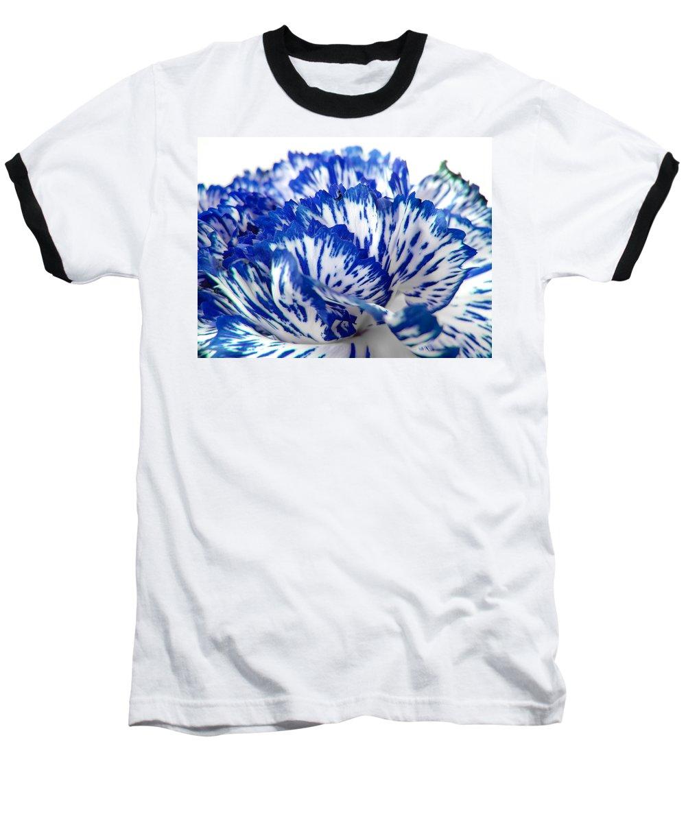 Carnation Baseball T-Shirt featuring the photograph Carnation by Daniel Csoka