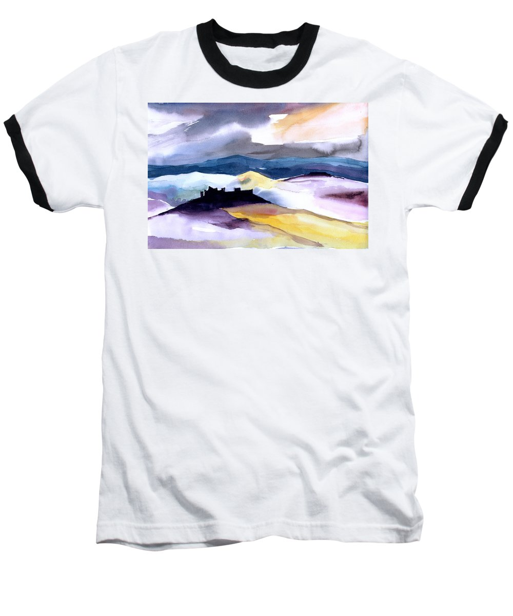 Water Baseball T-Shirt featuring the painting Castle by Anil Nene