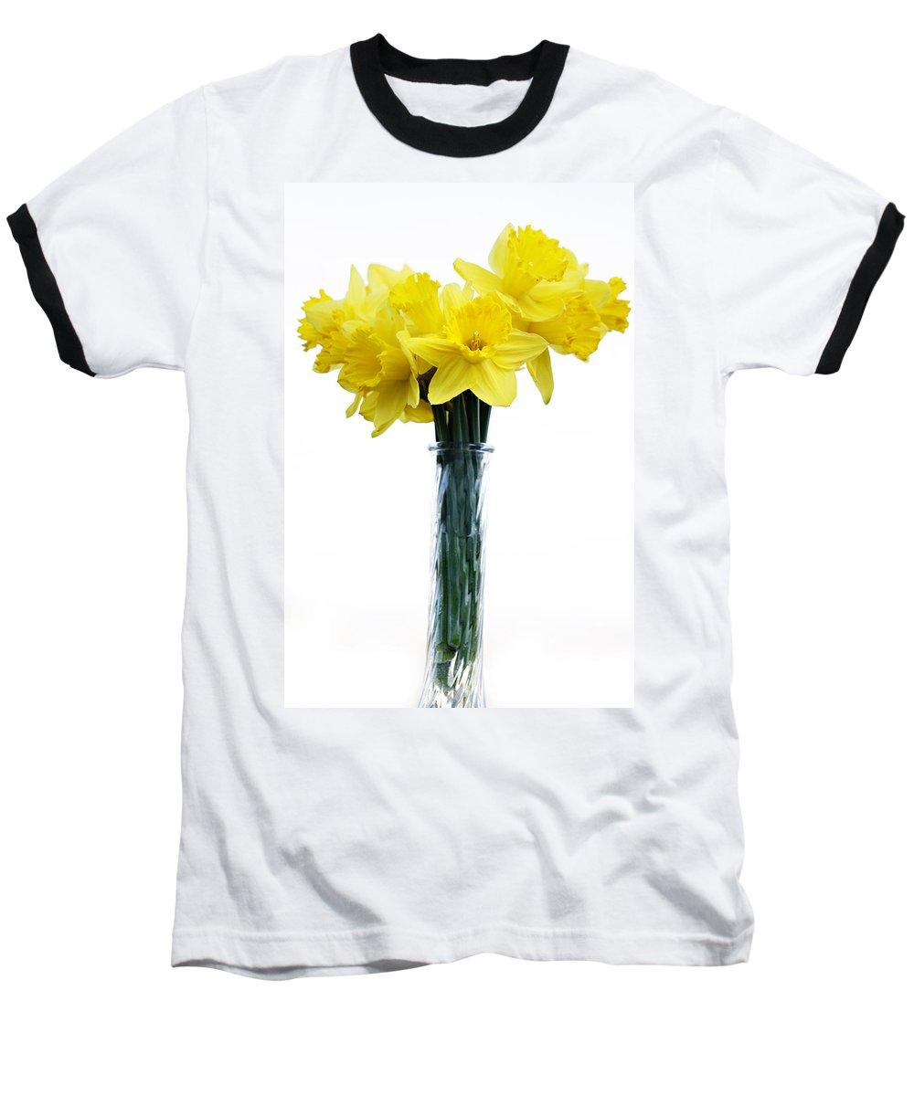Daffodil Baseball T-Shirt featuring the photograph Daffodil by Marilyn Hunt