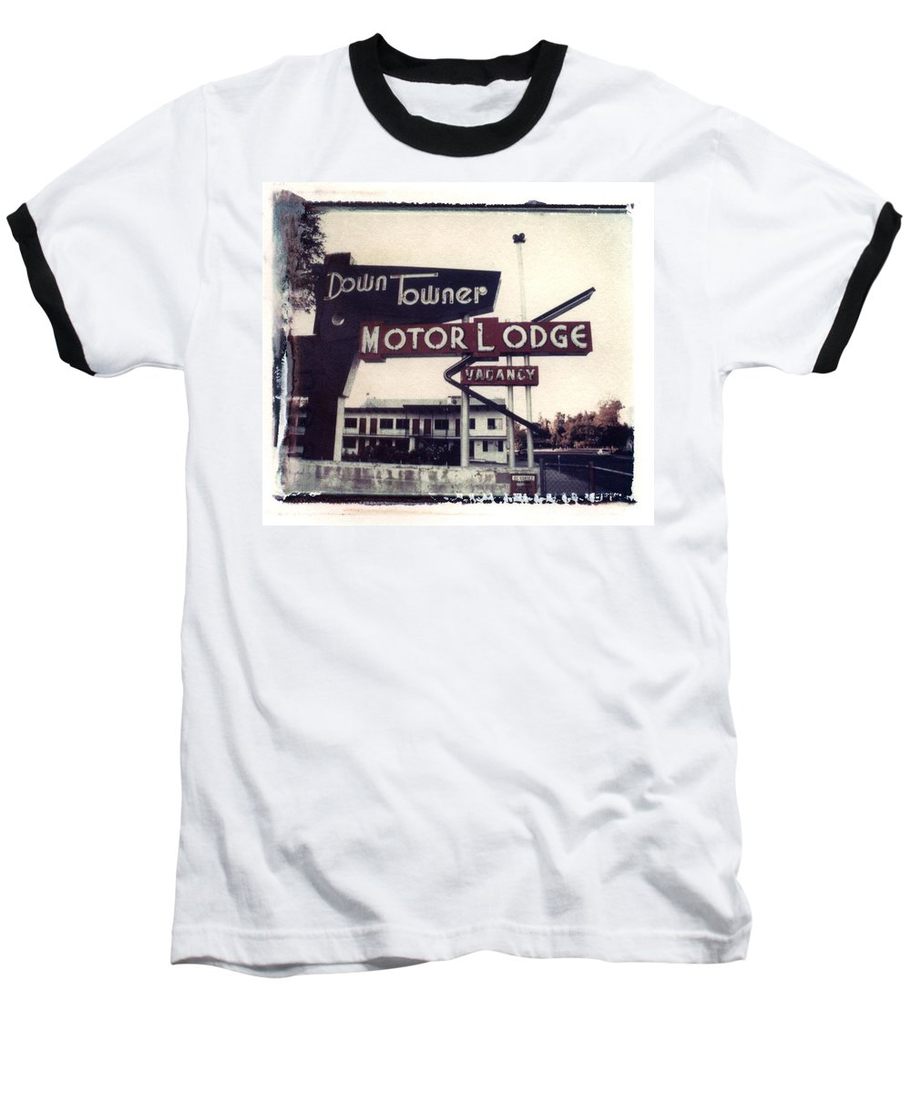 Landscape Baseball T-Shirt featuring the photograph Down Towner by Jane Linders