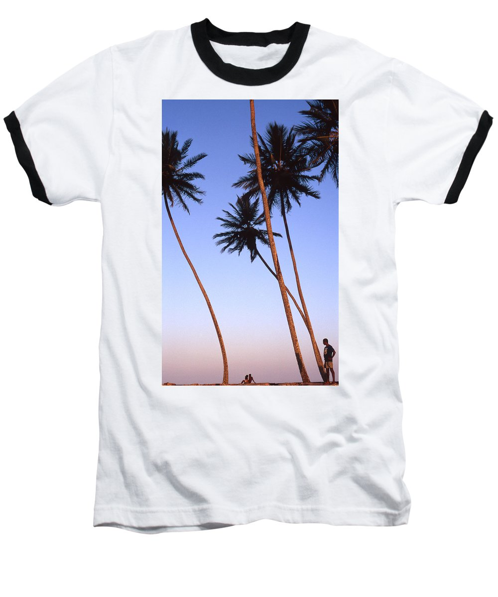 Bahia Baseball T-Shirt featuring the photograph Dusk In Morro by Patrick Klauss