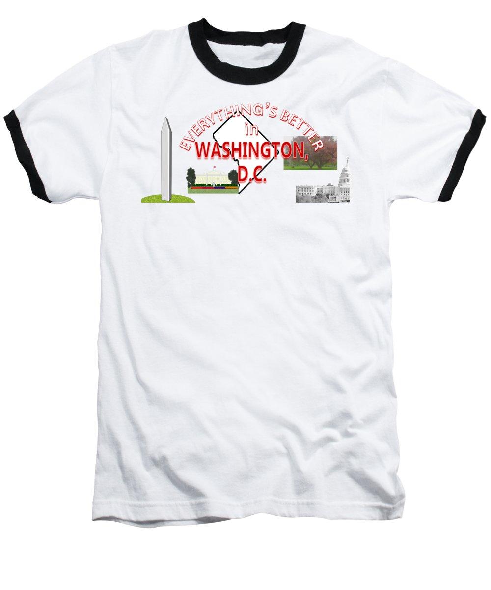 Washington D.c Baseball T-Shirts