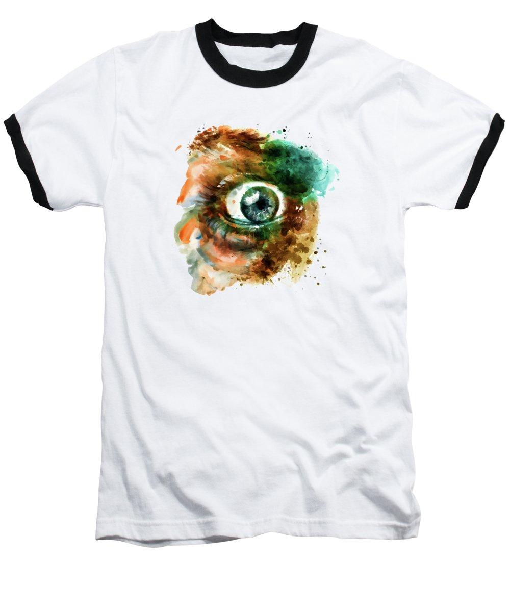 Irises Baseball T-Shirts