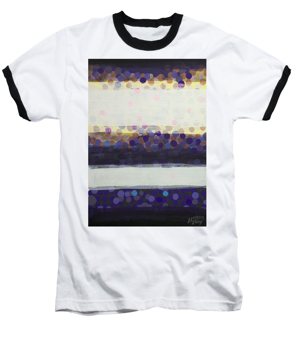 Final Moments Baseball T-Shirt featuring the painting Final Moments by Alan Hogan