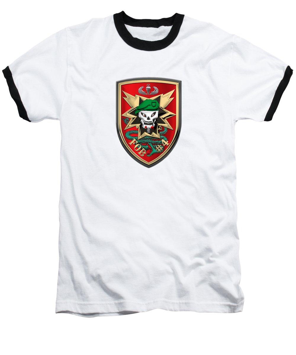 Military Base Baseball T-Shirts