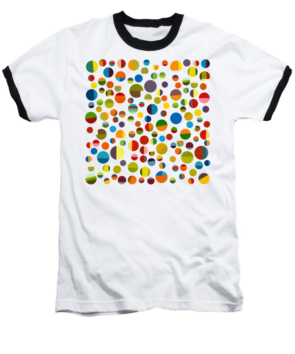Toys Baseball T-Shirt featuring the digital art Found My Marbles 3.0 by Michelle Calkins