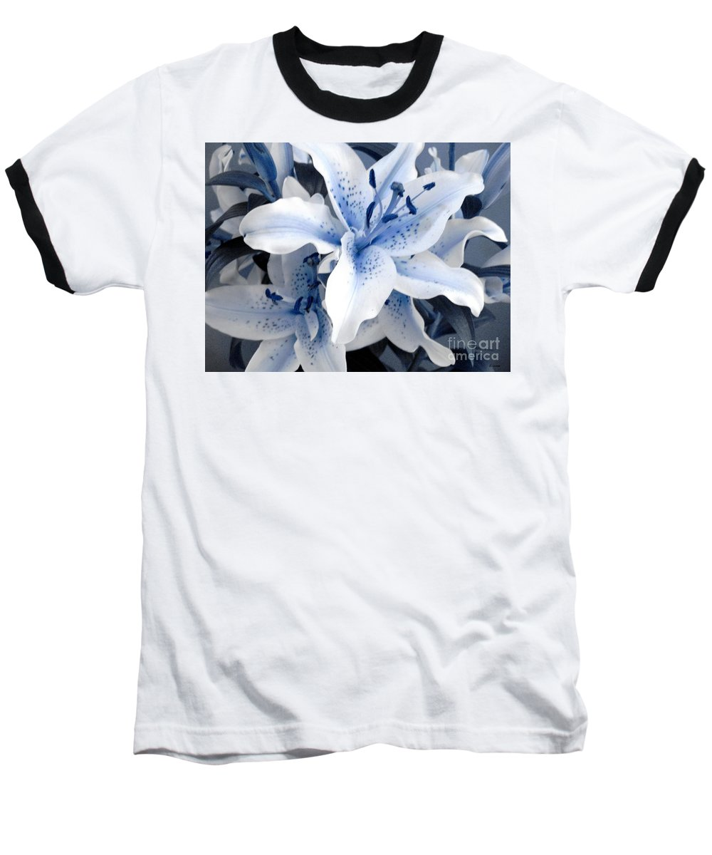 Blue Baseball T-Shirt featuring the photograph Freeze by Shelley Jones
