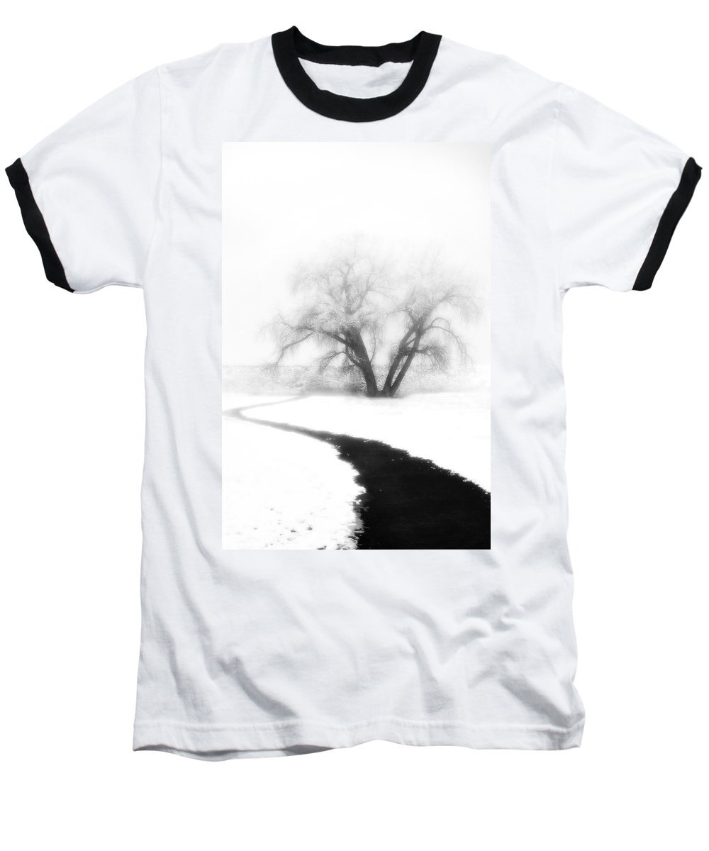 Tree Baseball T-Shirt featuring the photograph Getting There by Marilyn Hunt
