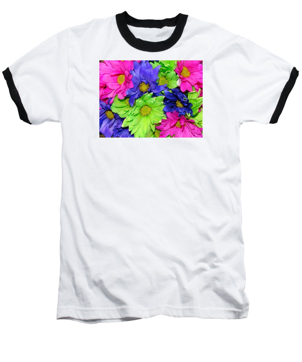 Flowers Baseball T-Shirt featuring the photograph Happiness by J R  Seymour