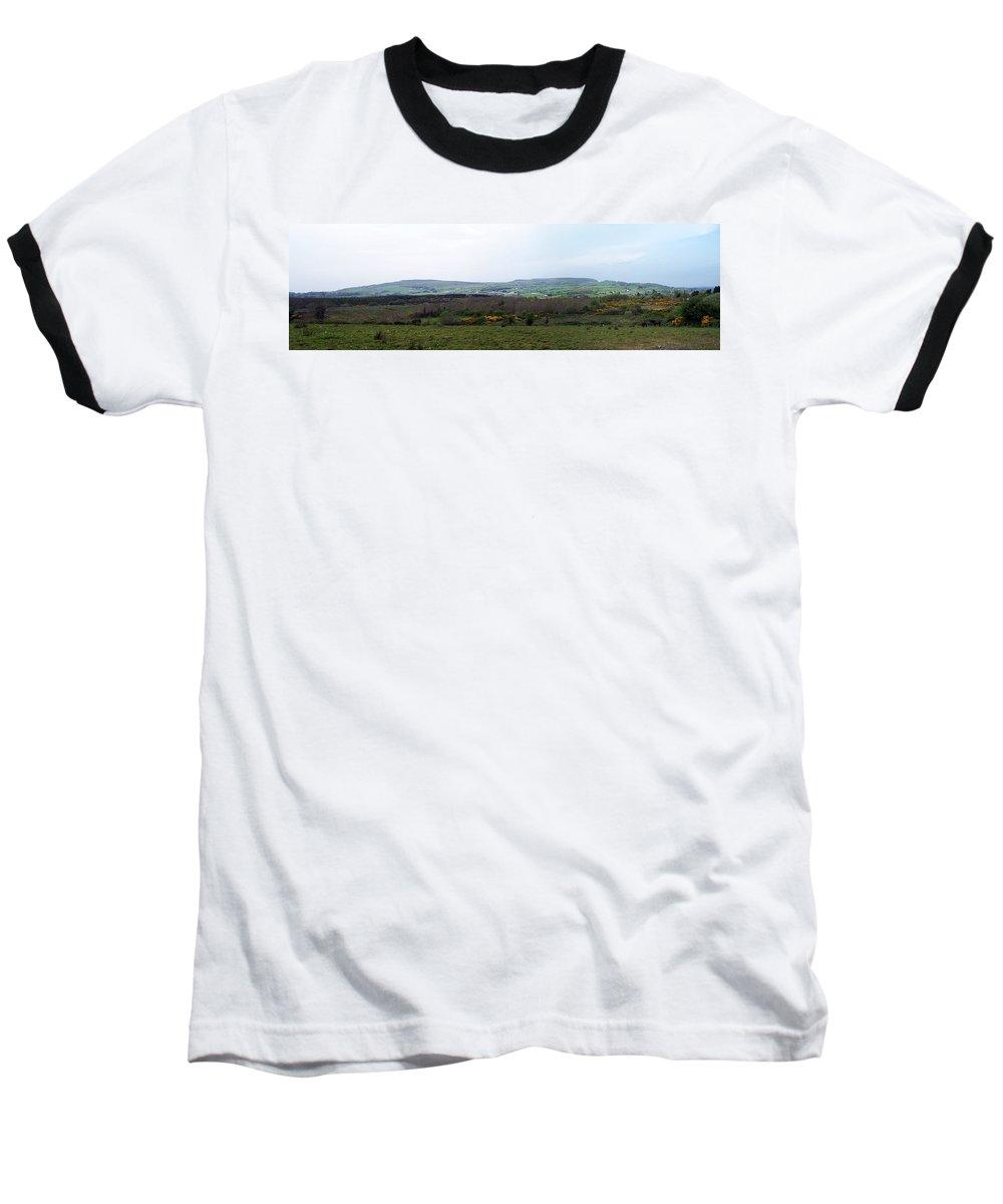 Ireland Baseball T-Shirt featuring the photograph Horses At Lough Arrow County Sligo Ireland by Teresa Mucha