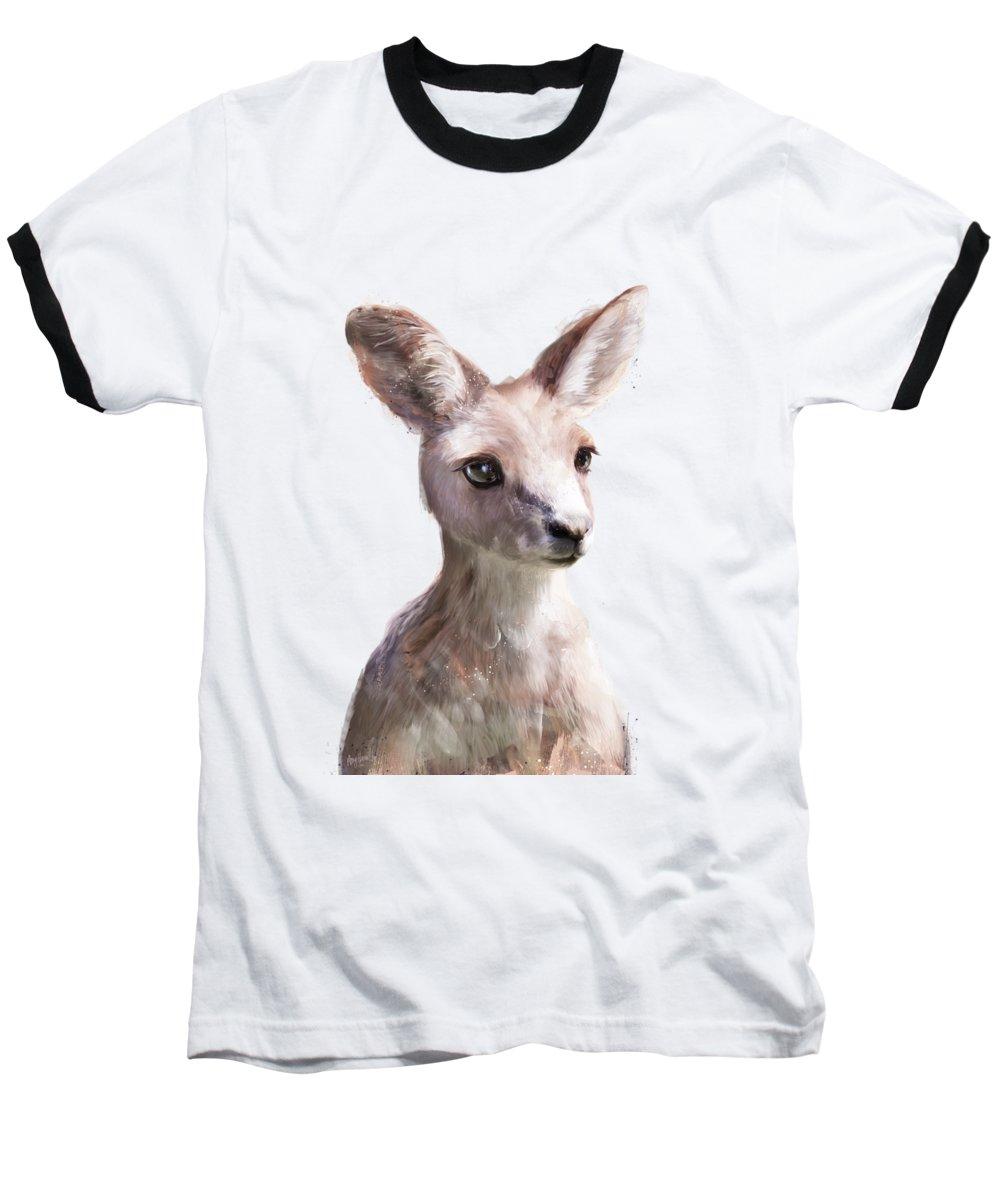 Kangaroo Baseball T-Shirts